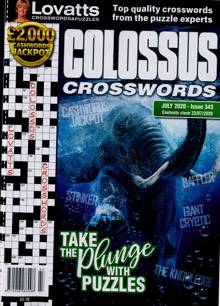 Lovatts Colossus Crossword Magazine NO 343 Order Online