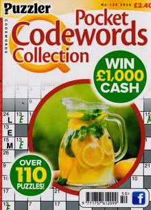 Puzzler Q Pock Codewords C Magazine NO 150 Order Online