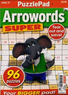 Puzzlelife Arroword Super Magazine NO 27 Order Online