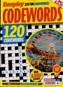 Everyday Codewords Magazine NO 72 Order Online
