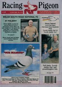 Racing Pigeon Magazine 10/07/2020 Order Online