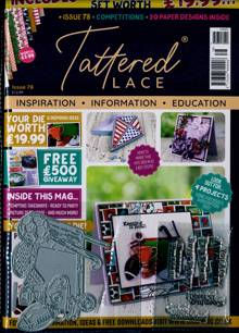 Tattered Lace Magazine NO 78 Order Online