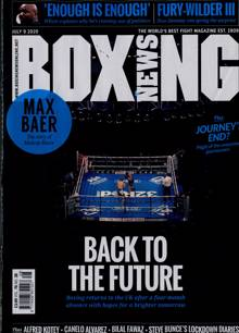 Boxing News Magazine Issue 09/07/2020