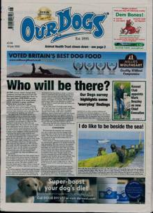 Our Dogs Magazine 10/07/2020 Order Online