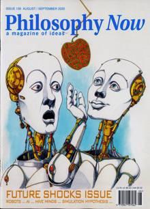 Philosophy Now Magazine AUG-SEP Order Online