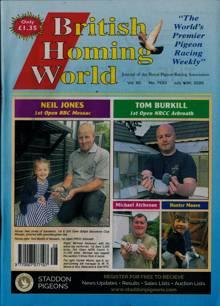 British Homing World Magazine NO 7533 Order Online