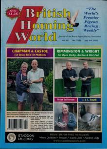 British Homing World Magazine NO 7532 Order Online