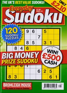 Everyday Sudoku Magazine NO 175 Order Online