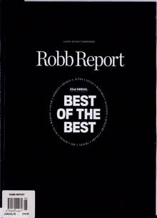 Robb Report Us Edition Magazine JUN-JUL Order Online