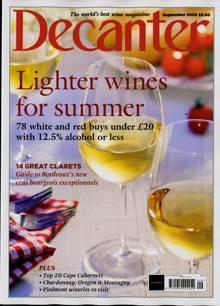 Decanter Magazine SEP 20 Order Online