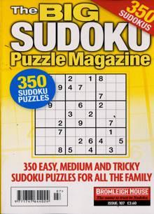 Big Sudoku Puzzle Magazine NO 107 Order Online