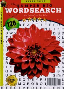 Bumper Big Wordsearch Magazine NO 219 Order Online