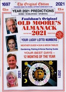Old Moores Almanack Magazine 2021 (1) Order Online
