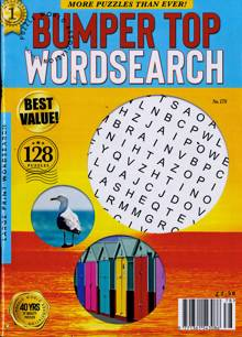 Bumper Top Wordsearch Magazine NO 178 Order Online