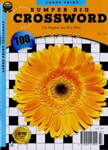 Bumper Big Crossword Magazine NO 133 Order Online