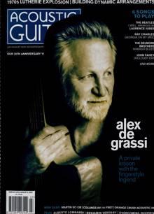 Acoustic Guitar Magazine JUL-AUG Order Online
