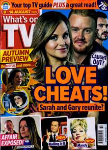 Whats On Tv England Magazine 08/08/2020 Order Online