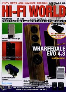 Hi Fi World & Comp Audio Magazine AUG 20 Order Online