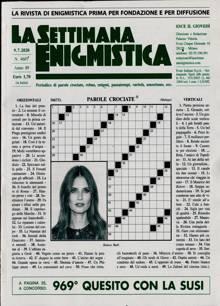 La Settimana Enigmistica Magazine NO 4607 Order Online