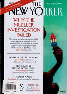 New Yorker Magazine 06/07/2020 Order Online