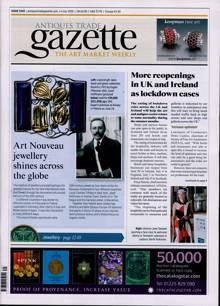 Antique Trades Gazette Magazine 04/07/2020 Order Online