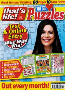 Thats Life We Love Puzzles Magazine NO 14 Order Online
