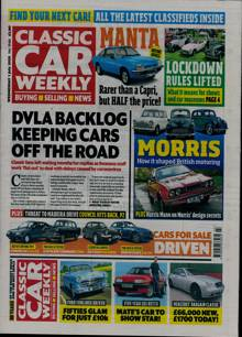 Classic Car Weekly Magazine 01/07/2020 Order Online