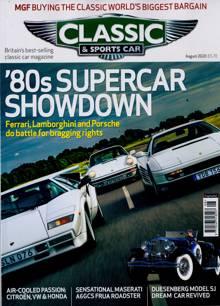 Classic & Sportscar Magazine AUG 20 Order Online