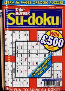Take A Break Sudoku Magazine NO 8 Order Online