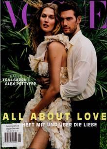 Vogue German Magazine Issue NO 6