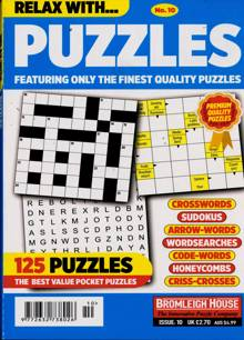 Relax With Puzzles Magazine NO 10 Order Online