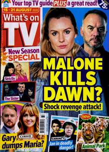 Whats On Tv England Magazine 15/08/2020 Order Online