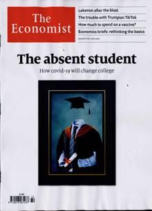 Economist Magazine 08/08/2020 Order Online