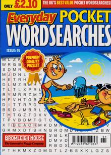 Everyday Pocket Wordsearch Magazine Issue NO 91