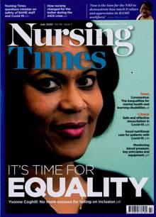Nursing Times Magazine JUL 20 Order Online