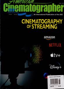 American Cinematographer Magazine JUN 20 Order Online
