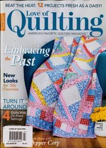Love Of Quilting Magazine JUL-AUG Order Online