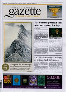 Antique Trades Gazette Magazine 11/07/2020 Order Online