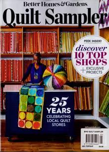Bhg Quilt Sampler Magazine TOPSHP Order Online