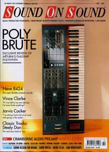 Sound On Sound Magazine OCT 20 Order Online