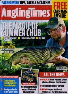 Angling Times Magazine 07/07/2020 Order Online