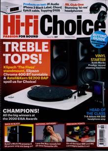 Hi Fi Choice Magazine OCT 20 Order Online