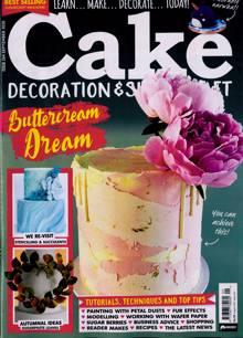Cake Decoration Sugarcraft Magazine Issue SEP 20