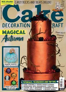 Cake Decoration Sugarcraft Magazine Issue OCT 20