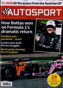 Autosport Magazine 09/07/2020 Order Online