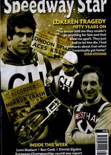 Speedway Star Magazine 11/07/2020 Order Online