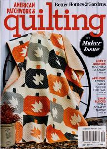 American Patchwork Quilting Magazine OCT 20 Order Online