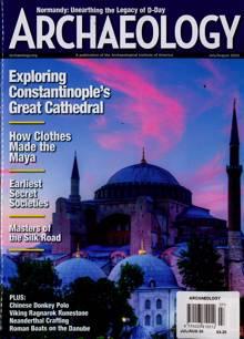 Archaeology Magazine JUL-AUG Order Online