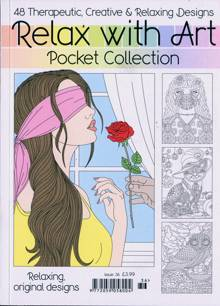 Relax With Art Pocket Coll Magazine NO 36 Order Online