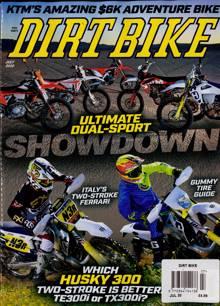 Dirt Bike Mthly Magazine Issue JUL 20